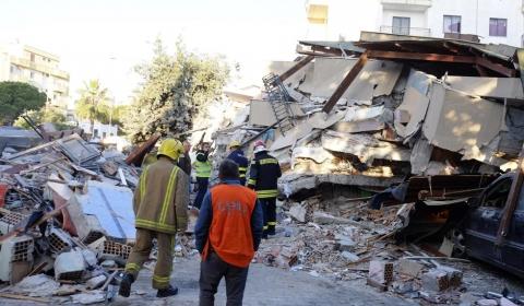 알바니아에서 93년 만에 최대 규모의 지진