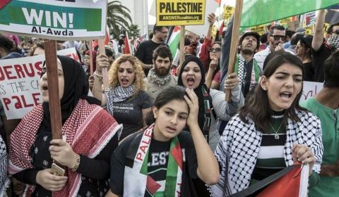 여전히 분쟁중인 팔레스타인
