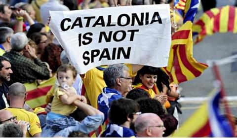 스페인 북동부 카탈루냐가 따시 뜨거워지고 있다.