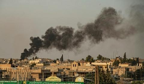 터키 시리아 북부 쿠르드족 공습 -작전명 평화의 샘