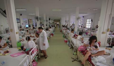 필리핀 수도 마닐라 호세 파벨라 메모리얼 병원