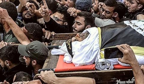 이스라엘, 이란의 후원을 받는 이슬라믹 지하드의 고위 사령관인 바하 아부 알아타(42) 공습, 살해